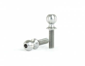 5.5x10mm Titanium Ball Stud | 2 pack