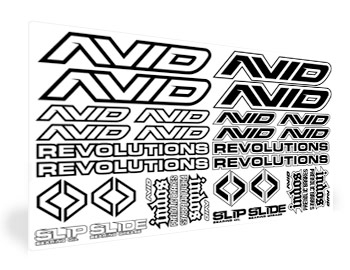 Avid Sticker Sheet