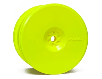 Satellite Rear Wheel (B4, C4.1 22, RB5) | 12mm Hex | Yellow Pair