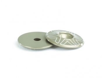 10th Wing Mount Buttons | Hard Anodized