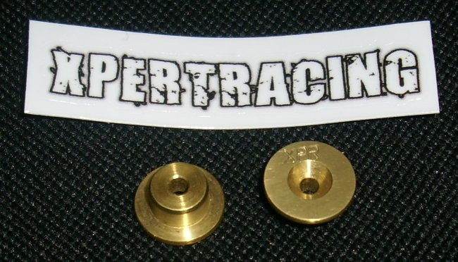 Brass front top deck mounts 7gr (DEX210 / DESC210 / DEST210)